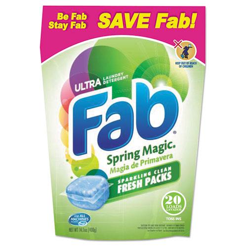 Fab® Toss Ins, 20/Pack, 4 Packs/Carton