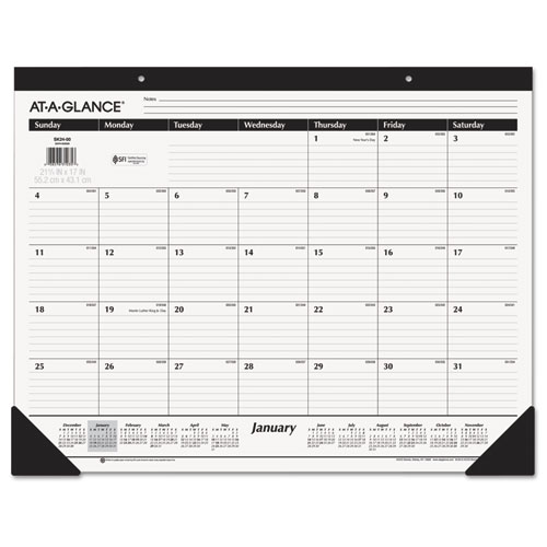Ruled Desk Pad, 22 x 17, 2020 | by Plexsupply