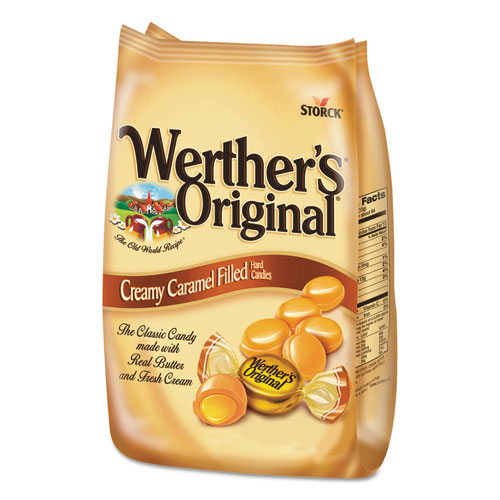 Werther's® Original® Hard Candies, Caramel with Caramel Filling, 30 oz Bag