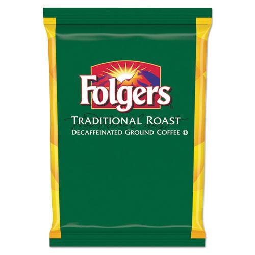 Traditional Roast Filter Packs, Decaf, 1.5 oz Pack, 42/CtnBox 63014