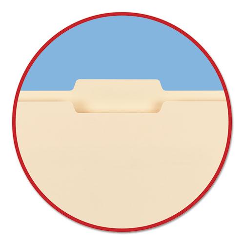 Manila File Folders, 1/3-Cut Tabs, Letter Size, 100/Box
