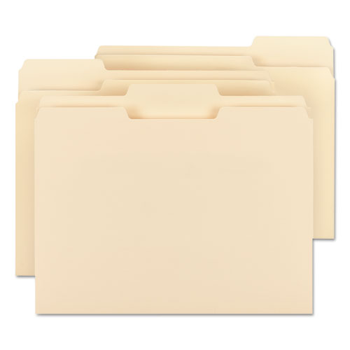 100 Recycled File Folders 1 3 Cut One Ply Top Tab