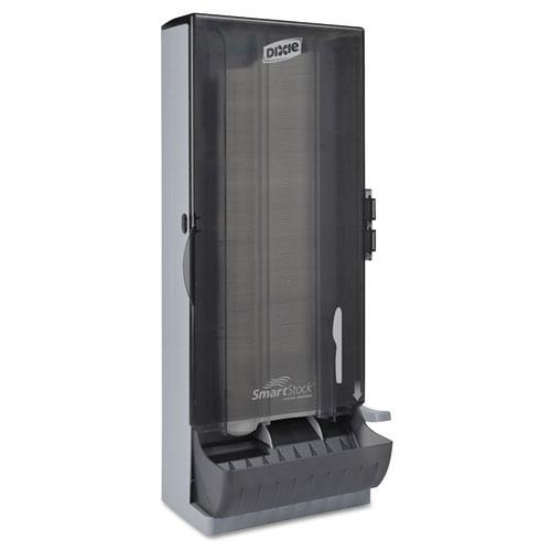 SmartStock Utensil Dispenser, Knife, 10 x 8.78 x 24.75, Smoke