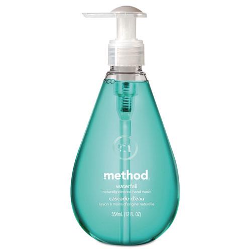 Method® Gel Hand Wash, Waterfall, 12 oz Pump Bottle