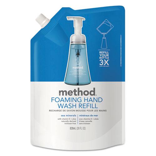 Foaming Hand Wash Refill, Sea Minerals, 28 oz Pouch