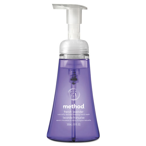 Foaming Hand Wash, French Lavender, 10 oz Pump Bottle