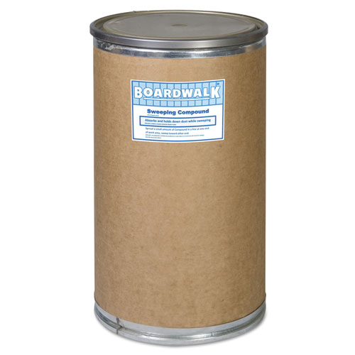 Oil-Based Sweeping Compound, Grit, 300lbs, Drum - Zerbee