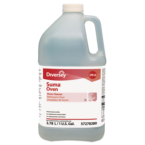 Suma Oven D9.6 Oven Cleaner, Unscented, 1gal Bottle