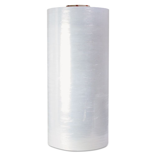 High-Performance Pre-Stretched Handwrap Film, 18 x 1500ft, 32-Ga, Clear, 4/CT