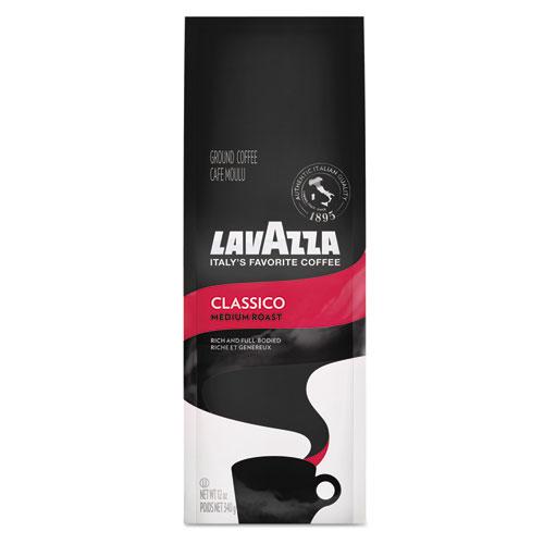 Lavazza Classico Ground Coffee, Medium Roast, 12 oz Bag