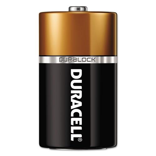Duracell® CopperTop Alkaline Batteries, D, 72/CT