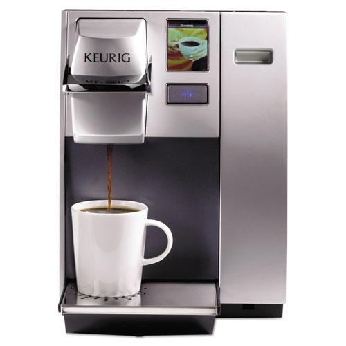 Keurig® OfficePRO K155 Premier Brewing System, Single-Cup, Silver