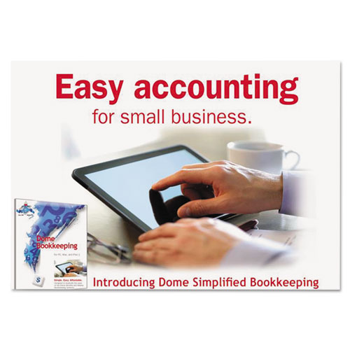 Dome® Simplified Bookkeeping Software, Mac® OS X & Later, Windows® 7, 8