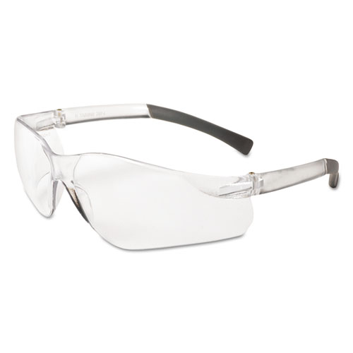 V20 Eye Protection, Polycarbonate Frame, Clear Frame/Lens, 12 Pairs