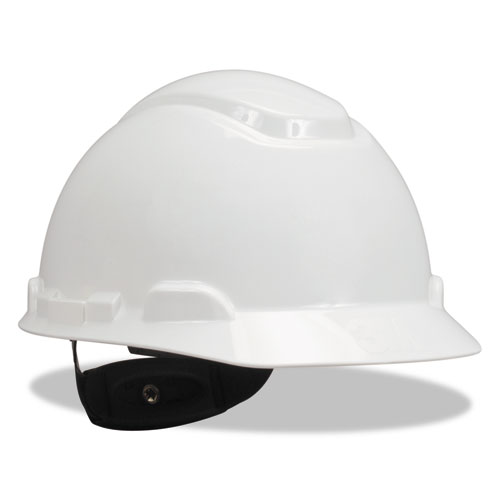 H-700 Series Hard Hat with Four Point Ratchet Suspension, White