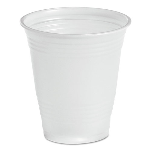 Translucent Plastic Cold Cups, 14 oz, Polypropylene, 20 Cups/Sleeve, 50 Sleeves/Carton