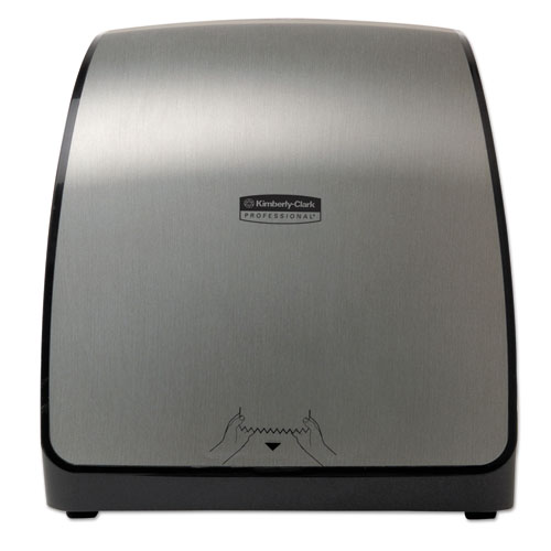 Slimroll Hand Towel System, 13 1/50w x 7 9/50d x 12 13/20h, Brushed Metallic