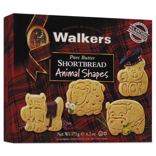 Walkers Shortbread Animal Cookies, 6.2 oz Box