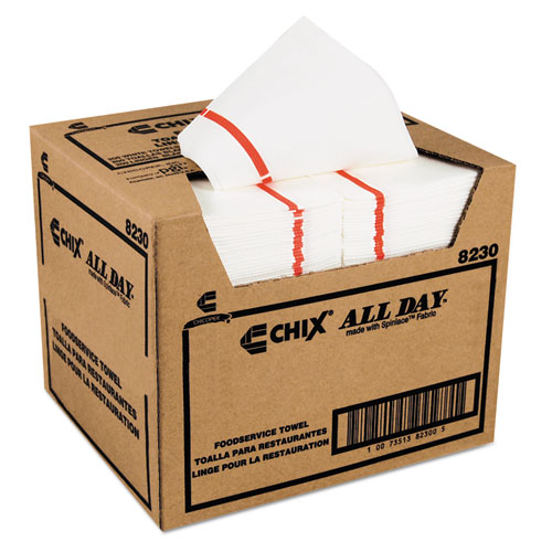 Foodservice Towels, 12 1/4 x 21, 200/Carton