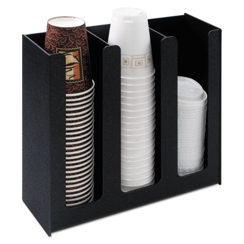 Cup Holder, 12 3/4w x 4 1/2d x 11 3/4d, Black