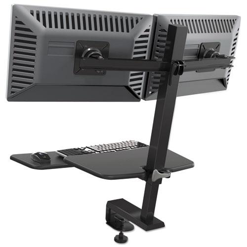 Blt90531 Balt Up Rite Desk Mounted Sit Stand Workstation
