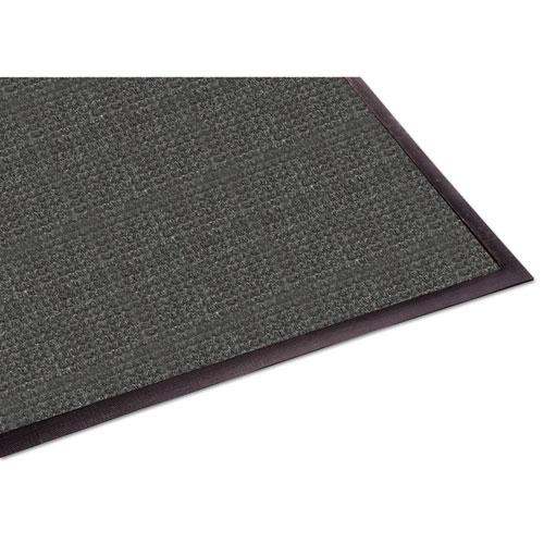 WaterGuard Indoor/Outdoor Scraper Mat, 48 x 72, Charcoal | by Plexsupply