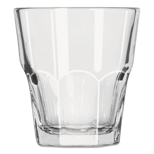 Gibraltar Rocks Glasses, 5.50 oz, Clear, 36/Carton 15249
