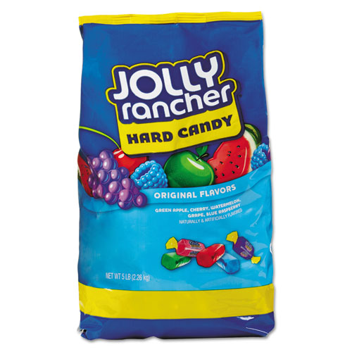 Jolly Rancher® Original Hard Candy, Assorted Fruit Flavors, 5 lb Bag