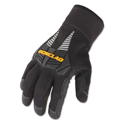 Cold Condition Gloves, Black, Large | by Plexsupply