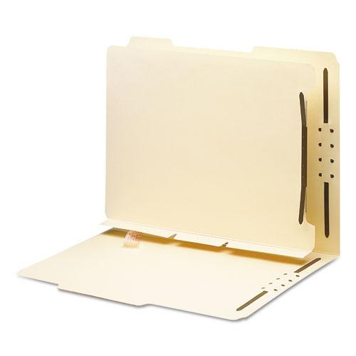 Manila Self-Adhesive Folder Dividers W/2-Prong Fastener, 2