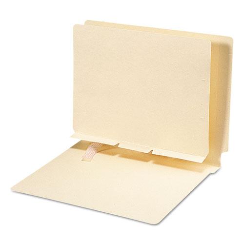 Manila Self-Adhesive Folder Dividers W/Prepunched Slits, 2