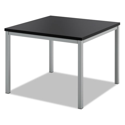 Occasional Corner Table, 24w x 24d, Black | by Plexsupply
