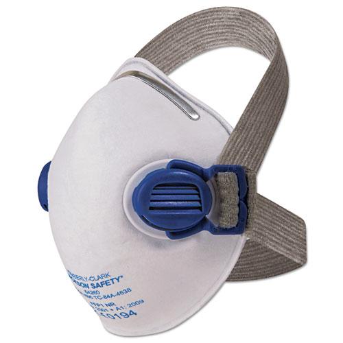 R10 Particulate Respirator, N95, White w/Gray Straps, 10/Box