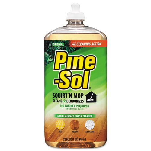 Squirt n Mop Multi-Surface Floor Cleaner, 32 oz Bottle, Original Scent, 6/CT