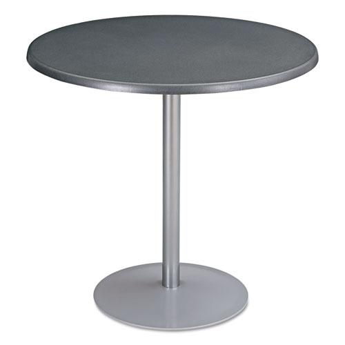 "Entourage Table Top, Round, 32"" Diameter, Anthracite | by Plexsupply"