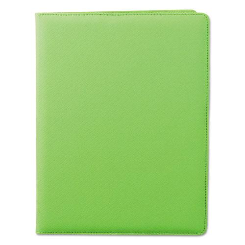 Fashion Padfolio, 8 1/2 x 11, Lime PVC