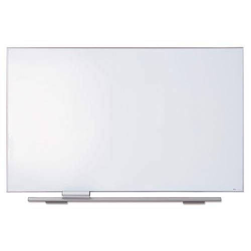 Polarity Porcelain Dry Erase Board, 72 x 44, Aluminum Frame | by Plexsupply