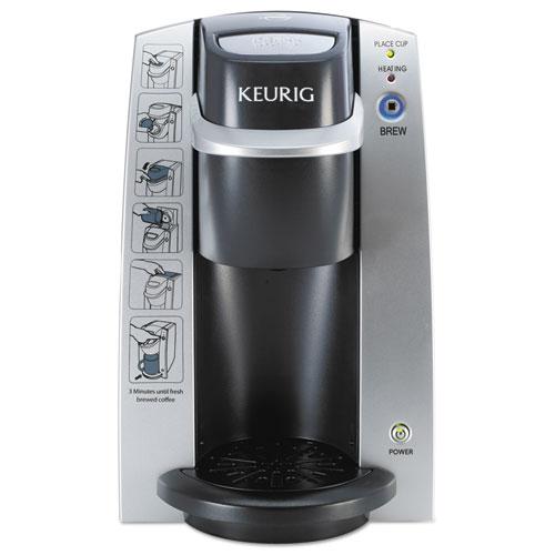 Keurig® K130 Commercial Brewer, 7 x 10, Silver/Black