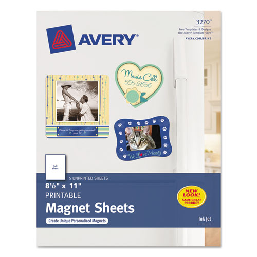 Magnetic Printable Sheets