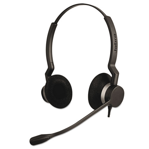 QD Binaural Over-the-Head Corded Headset