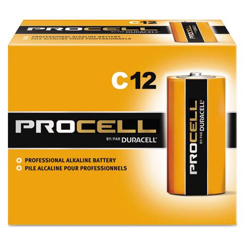 Duracell® Procell Alkaline C Batteries, 12/Box