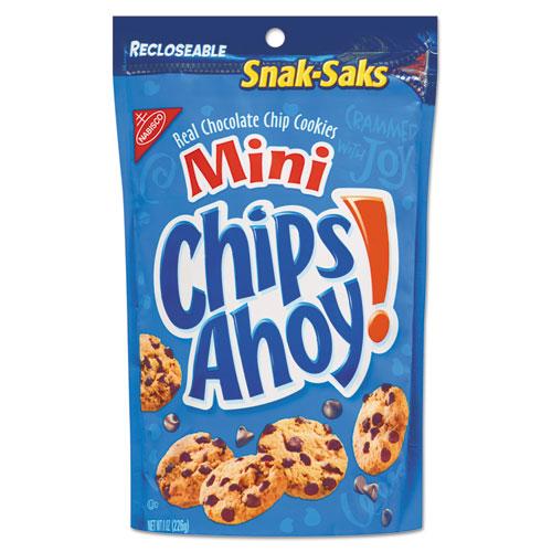 Nabisco® Chocolate Chip Cookies - Single Serve, 2 oz Packets, 60/Carton