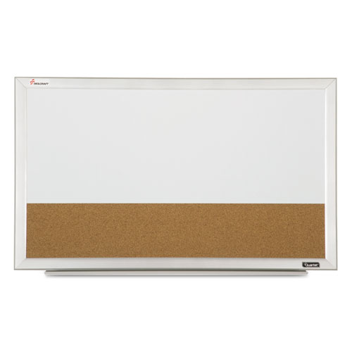7110015680402 Quartet Cubicle Combination Boards 18 X 30 White Frame