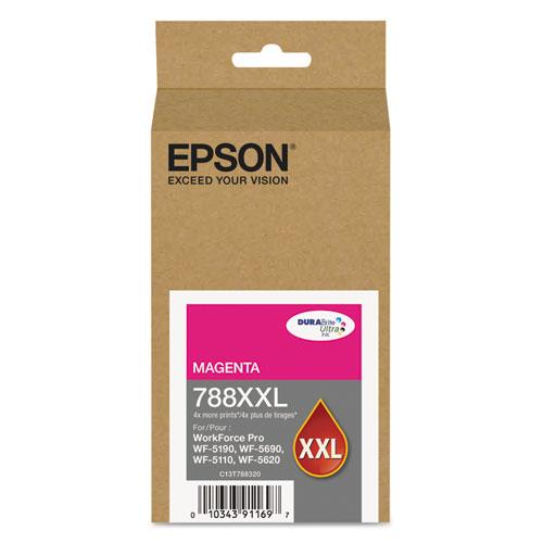 Epson T788XXL320 (788XXL) DURABrite ULettera XL PRO High-Yield Ink Magenta 23214848