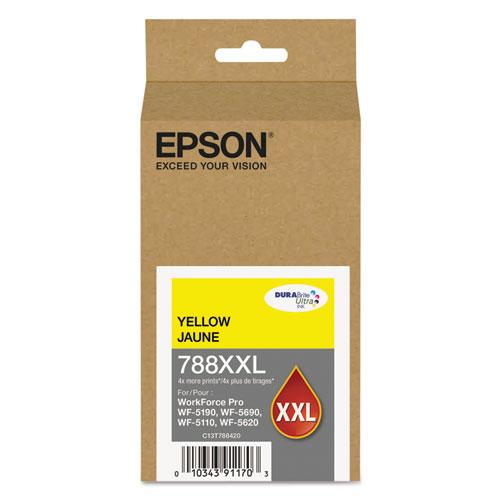 Epson T788XXL420 (788XXL) DURABrite Ultra XL PRO High-Yield Ink Yellow 23214843