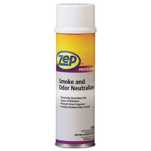 Zep Professional® Smoke and Odor Neutralizer, Pleasant Scent, 20 oz Aerosol, 12/Carton
