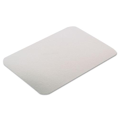 Rectangular Flat Bread Pan Covers, 8.4 x 5.9, White/Aluminum, 400/Carton