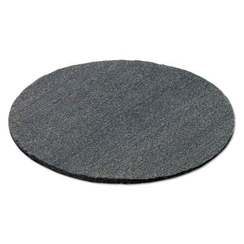 Radial Steel Wool Pads, Grade 0 (fine): Cleaning  Polishing, 19, Gray, 12/CT