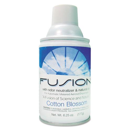 Fresh Products Fusion Metered Aerosols, Cotton Blossom, 6.25oz, Aerosol, 12/Carton