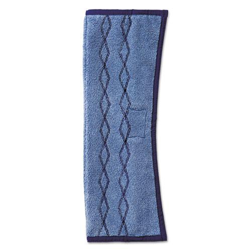 Rubbermaid® Commercial HYGEN™ HYGEN Dust/Scrub Microfiber Plus Pad, 12 x 17 1/2, Blue